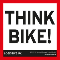 Think Bike! 100mm Sticker