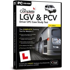 The Complete LGV & PCV Driver CPC Case Study Test PC DVD-ROM