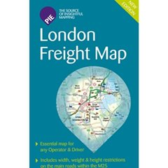 London Freight Map Folded