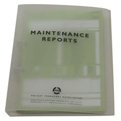 Maintenance Report Binder