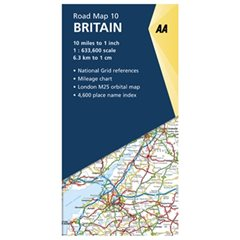 Road Map of Britain