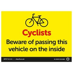 Cyclist Beware Magnetic