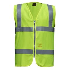 High Visibility Waistcoat AS FR Inherent