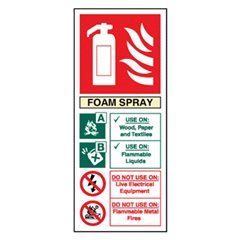 Extinguisher Sign EN4R