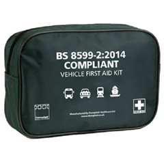 Vehicle First Aid Kit - BS8599-2:2014 Medium (1-8 Persons)