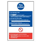 Fire Action Notice Fi61S