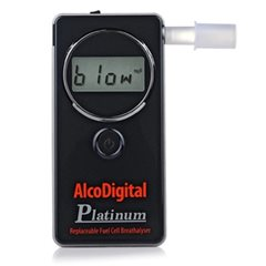 AlcoDigital Platinum Breathalyser