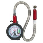 Tyre Pressure Gauge with Tyre Tread Depth Gauge