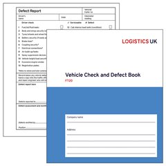 FT20 Vehicle Check and Defect Book