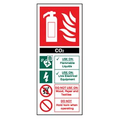 Extinguisher Sign EN6R