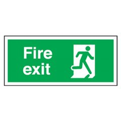 Fire Exit Sign SA27R