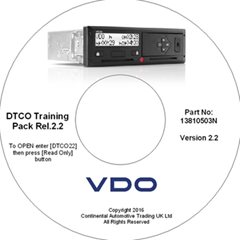 VDO Version Rel.2.2 Driver Training CD ROM