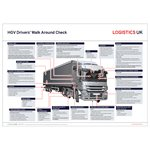 HGV Walk Around Check Poster