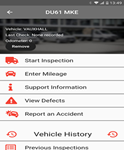 Van Excellence walk around check app