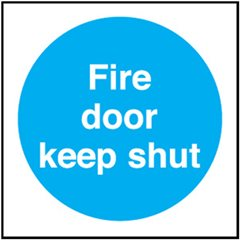 Fire Door sign MA147R