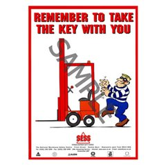 """Remember to take the key with you"" - A3PosterSP19"