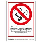 No Smoking Stickers Scotland