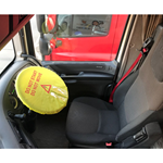 Stretchy Steering Wheel Safety Cover 47cm