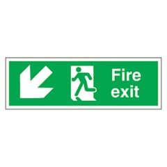 Fire Exit Sign (SA13S)