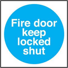 Fire Door Sign MA149R