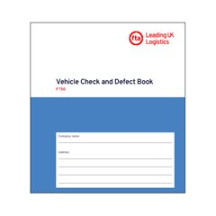 FT50 Vehicle Check and Defect Book
