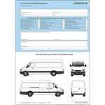 Van Defect & Damage Report Pad - Duplicate VAN40