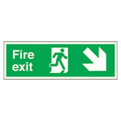 Fire Exit Sign SA7R