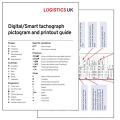 Digital Tachograph Pictograms and Printout Drivers' Card