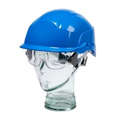 Spectrum Safety Helmet with Integral Goggles