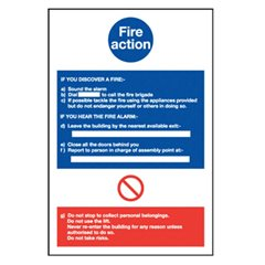 Fire Action Notice Fi61R
