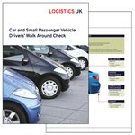 Car and Small Passenger Vehicle Drivers' Walk Around Check Card