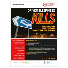Driver Sleepiness Poster