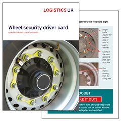 Wheel Security Drivers Card