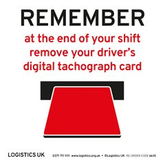Remove Drivers Digital Card Sticker