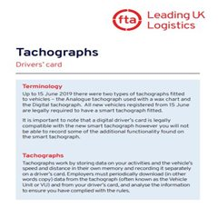 Digital Tachograph Driver Card