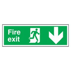 Fire Exit Sign SA5R