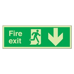 Fire exit sign PH299